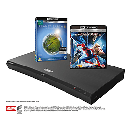 Samsung UBDM9500 Ultra HD 4k HDR Blu-Ray Player with Built-In Wi-FI in BlackTV and Home Cinema