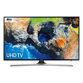 "Samsung UE50MU6120 50"" HDR 4K Ultra HD Smart TV with Freeview HD in BlackTV and Home Cinema"