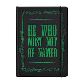 Harry Potter Notebook Voldemort He who must not be named Official A5 hardbackStationery