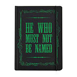 Harry Potter Notebook Voldemort He who must not be named Official A5 hardback screen shot 1