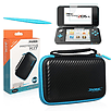 Black Protective kit for New Nintendo 2DS XL, Case, Screen Protector, Stylus 2DS/3DS