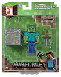Minecraft 3-inch Zombie Action Figure screen shot 1