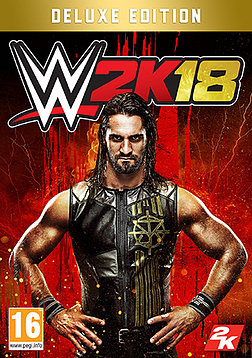 WWE 2K18 Deluxe EditionPCCover Art
