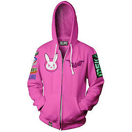 Overwatch Hoodie DVA (X Large)Clothing and Merchandise