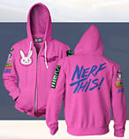 Overwatch Hoodie DVA (X Large) screen shot 1