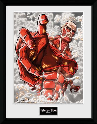 Buy Attack On Titan Season 2 Colossus Titan 30 x 40cm ...