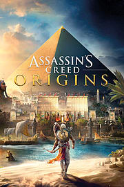 Assassins Creed Origins Cover Maxi Poster 61 x 91.5cmPosters