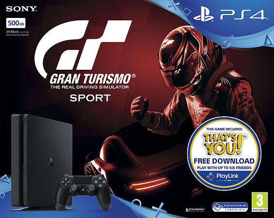 Gran Turismo Sport PlayStation 4 500GB Console