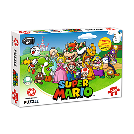 Super Mario and friends - 500 piece jigsaw puzzlePuzzles and Board Games