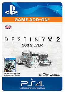 500 Destiny 2 Silver for PS4