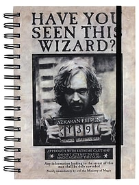 Harry Potter Wanted Sirius Black A5 NotebookStationery