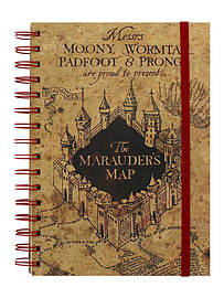 Harry Potter The Marauders Map A5 NotebookStationery