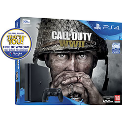 PlayStation 4 500GB Call of Duty WW2 and That's YouPlayStation 4