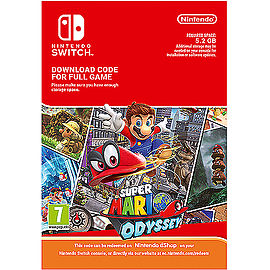 Super Mario Odyssey DownloadSwitch