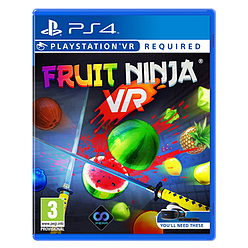 Fruit Ninja PS4 Cover Art