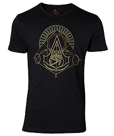 Assassin's Creed Origins - Golden Crest Men's T-shirt - LargeClothing and Merchandise