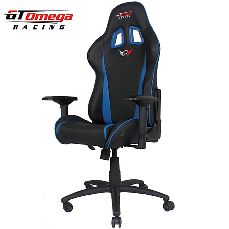 Perfect GT Omega PRO Racing Office Chair Black Next Blue Leather