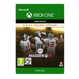 Madden NFL 18: G.O.A.T. Holiday UpgradeXbox One