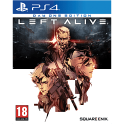 Left Alive - With Only at GAME Steelbook