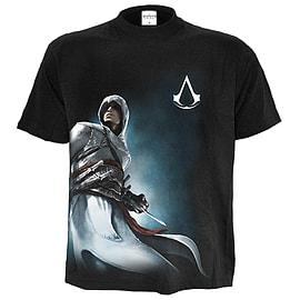 Altair Side Print Assassins Creed T-Shirt Black (M)Clothing and Merchandise