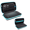 Carry Case for Nintendo 3DS XL or New 3DS XL - Black/Blue 2DS/3DS