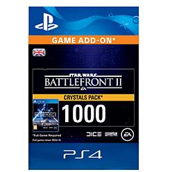 Star Wars Battlefront II 1000 Crystals for PlayStation 4