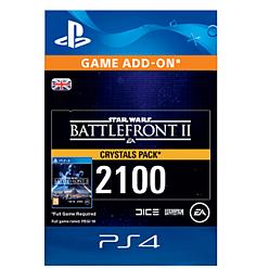Star Wars Battlefront II 2100 Crystals for PlayStation 4