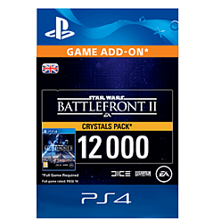 Star Wars Battlefront II 12000 Crystals for PlayStation 4