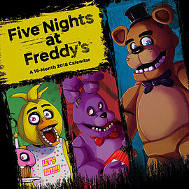 Five Nights At Freddys Official Calendar 2018 CalendarBooks