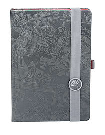 Thor Notebook Thor comic strip Premium new Official Marvel Comics Grey Size:Stationery