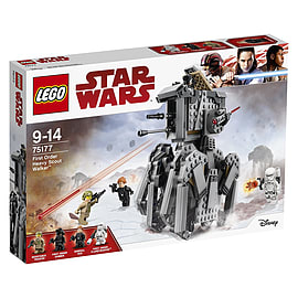 LEGO Star Wars The Last Jedi 75177 First Order Heavy Scout Walker ToyBlocks and Bricks