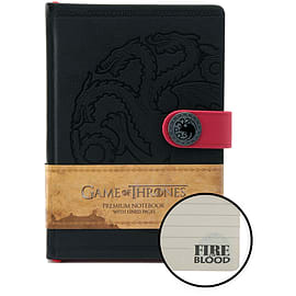 Game of Thrones: House Targaryen Notebook