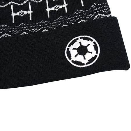 829c46c8bda Buy Official Star Wars Empire Bobble Hat   Beanie