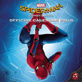 Spider-Man Homecoming 2018 Square Calendar 30 x 30cmBooks