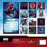 Spider-Man Homecoming 2018 Square Calendar 30 x 30cm screen shot 1