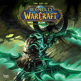 World of Warcraft 2018 Square Wall Calendar 30x30cmBooks