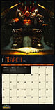 World of Warcraft 2018 Square Wall Calendar 30x30cm screen shot 2