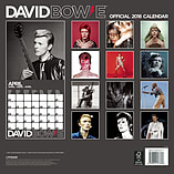 David Bowie 2018 Official Square Wall Calendar 30 x 30cm screen shot 2