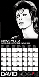 David Bowie 2018 Official Square Wall Calendar 30 x 30cm screen shot 1