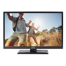 Linsar 24LED1700 24 LED HD Ready Smart TV with Built In WiFi and Freeview HD in BlackTV and Home Cinema