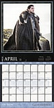 Game of Thrones 2018 Wall Calendar 30x30cm screen shot 2