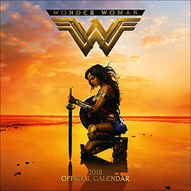 Wonder Woman 2018 Square Calendar 30 x 30cmBooks