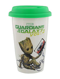 Guardians Of The Galaxy Vol. 2 Get Your Groot On Travel Mug WhiteHome - Tableware