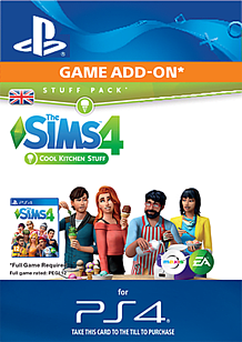 The Sims 4 Cool Kitchen Stuff for PS4