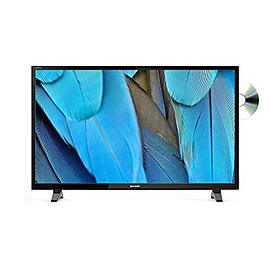 Sharp LC-32DHF4041K 32-Inch Widescreen 720p HD Ready DVD Combi TV with Freeview HD - BlackTV and Home Cinema