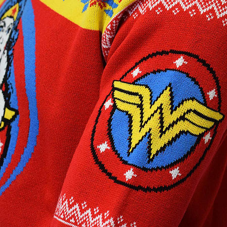 official wonder woman christmas jumper ugly sweater uk s us xs