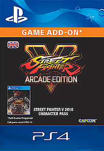 PlayStation 4 Street Fighter V Season 3 Character Pass for PS4
