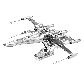 Metal Earth Star Wars Poe Dameron's X-Wing Model Kit