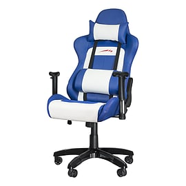 SPEEDLINK Regger Gaming Optimised Chair with 360 Degree Swivel & Lumbar Support, BlueMulti Format and Universal