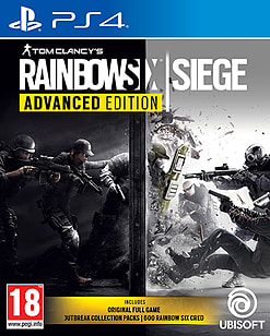 Tom Clancy's Rainbow Six: Siege Advanced EditionPlayStation 4Cover Art